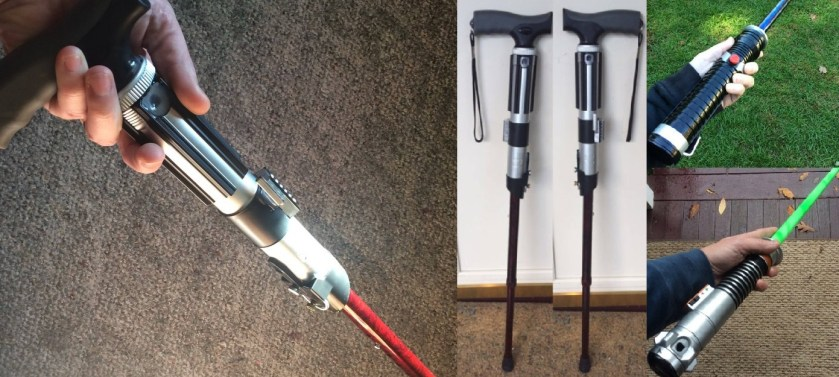 lightsaber cane