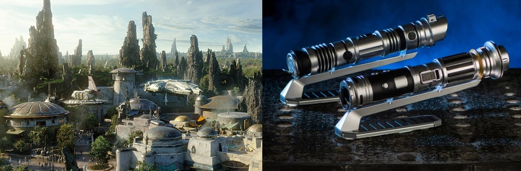 Star Wars Galaxy's Edge Lightsabers: Savi's Workshop vs Dok-Ondar's Den of Antiquities