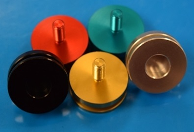 The Custom Saber Shop 8-32 Covertec Button Thumbscrew