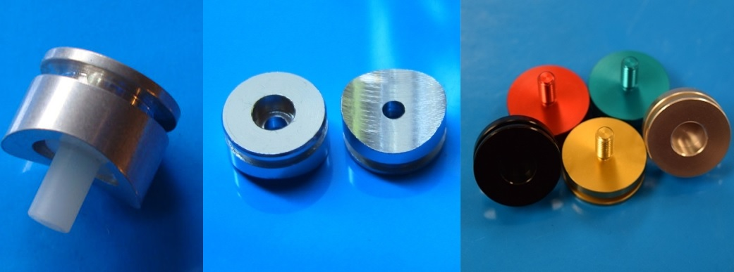 Covertec Wheel Knob Plastic x 10 Flat Black