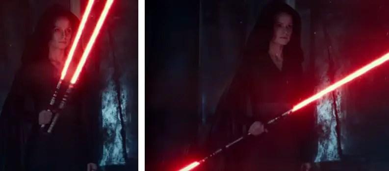 Dark Rey collapsible hilt lightsaber