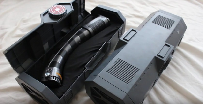 legacy lightsaber box