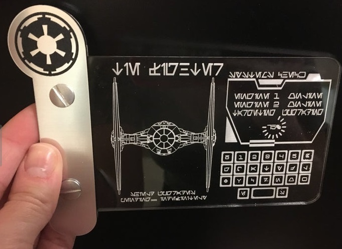 Fighter Mini Data Pad from VidaCustomDesigns