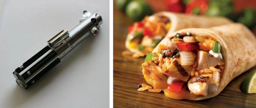 lightsaber burritos