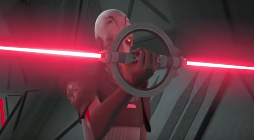 Rebels Inquisitor Double Lightsaber