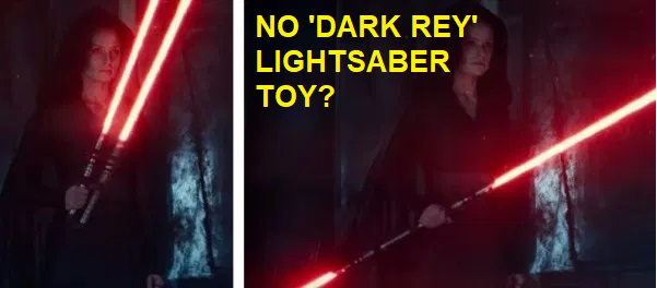 Dark Rey lightsaber