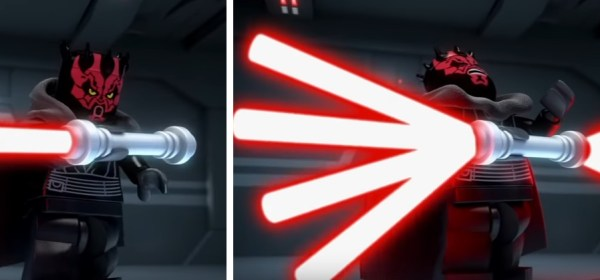 Darth Maul octo-blade lightsaber