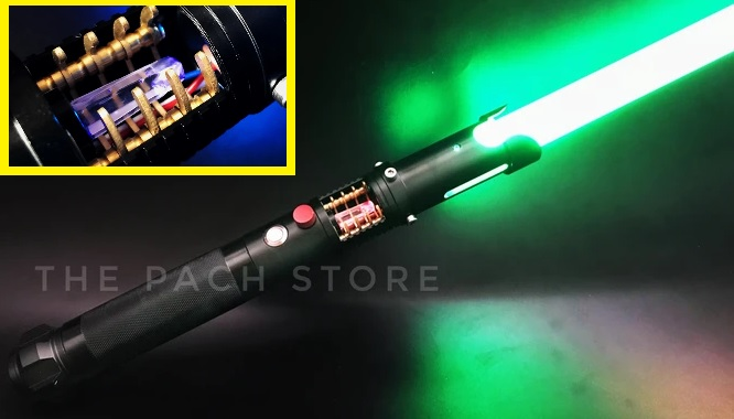 The Pach Store Lab1 lightsaber (affordable crystal reveal)