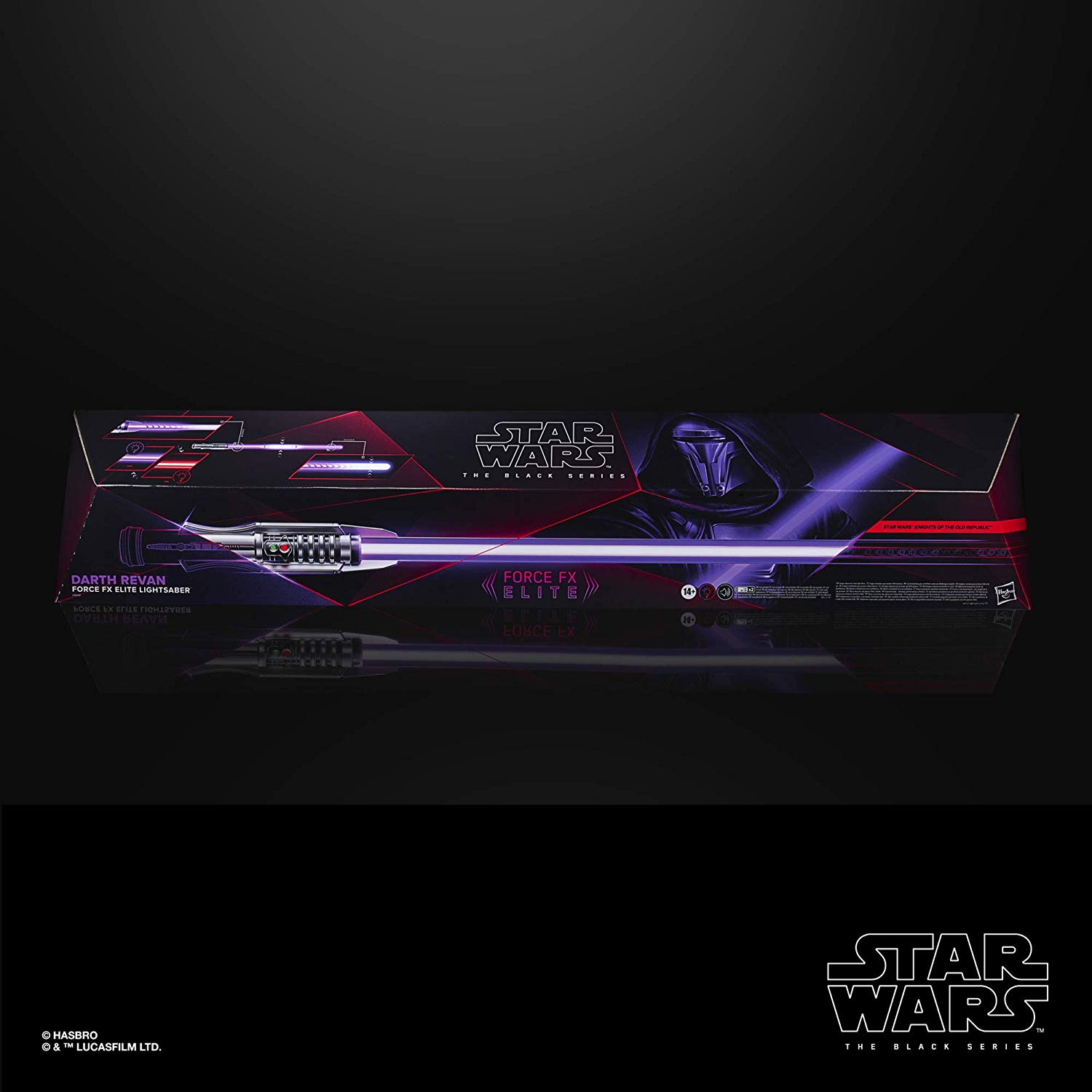 Hasbro Darth Revan Force Fx Elite Lightsaber Unveiled New Saber Alert Sabersourcing