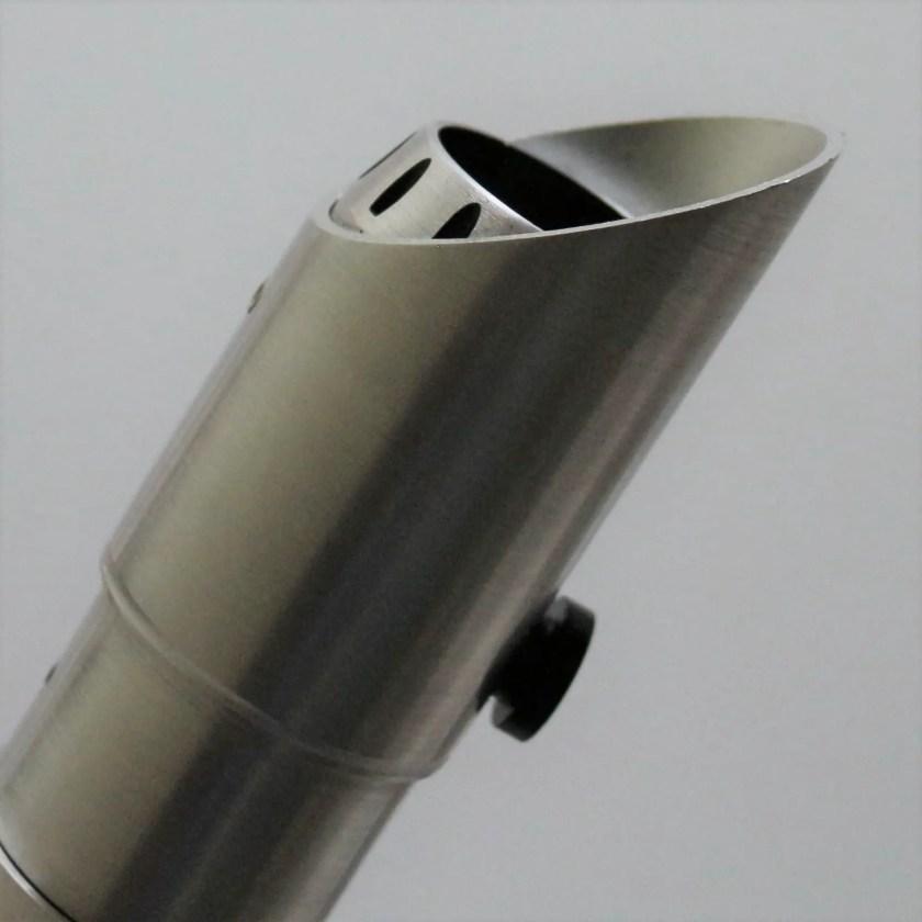 Saberforge Silver Knight lightsaber (slanted emitter)