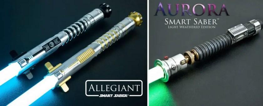 Electrum Sabercrafts lightsabers