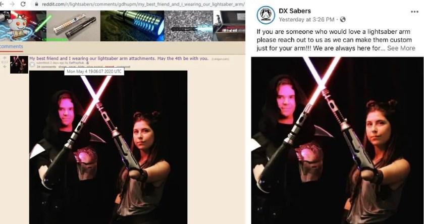 dx-sabers-lightsaber-arm