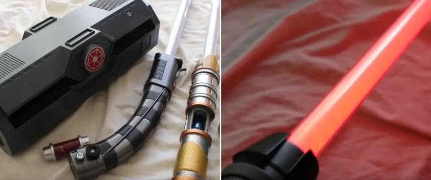 Galaxy's Edge lightsaber blade