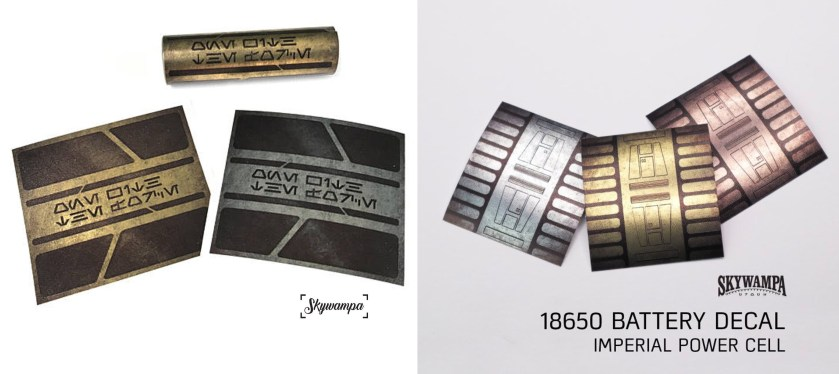 Skywampa battery decal