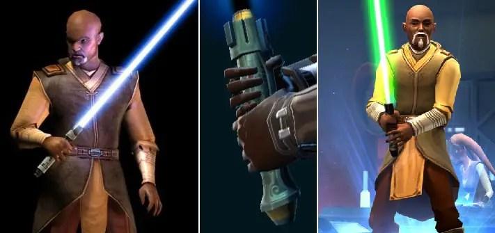 Jolee Bindo lightsaber (Gray Jedi)