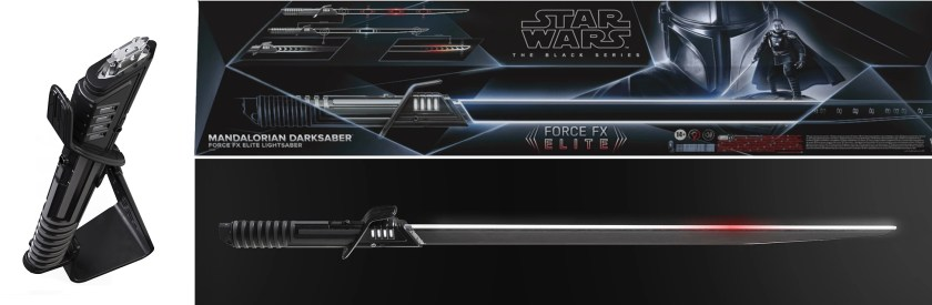 Hasbro Mandalorian Darksaber Force FX lightsaber
