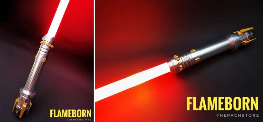 WonderForce FlameBorn lightsaber