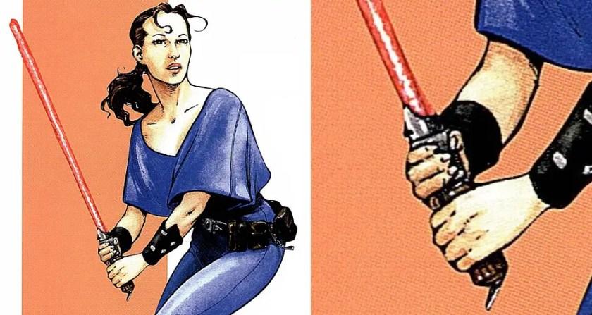 Ana Tathis lightsaber