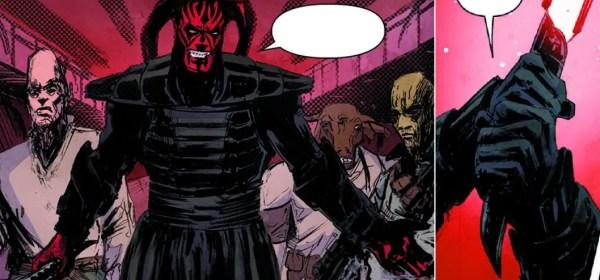 Darth Luft lightsaber (One Sith)