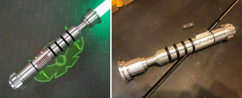 LDM Custom Sabers Jacen Solo lightsaber