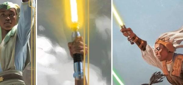 Indeera Stokes lightsaber (High Republic)