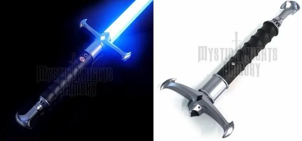 Mystic Knights Starfighter V2 lightsaber