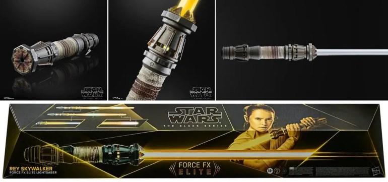 Hasbro Rey Skywalker Force FX Elite Lightsaber