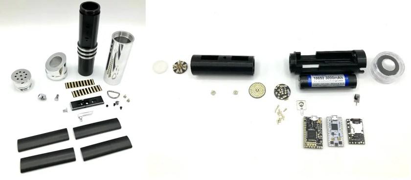 Saberbay Petro lightsaber kit and install