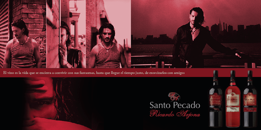Santo Pecado - Vino de Ricardo Arjona