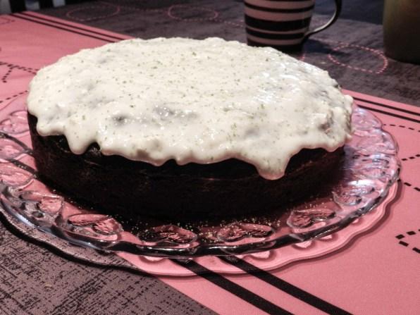 Torta y cubierta