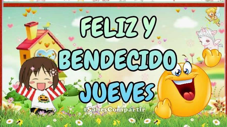 Video Mensaje BUENOS DIAS Feliz y Bendecido Jueves