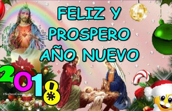 FELIZ Y PROSPERO AÑO NUEVO 2018
