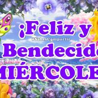 Bonito Mensaje 💐 Para ti 🙋 Buenos Días ☕! Feliz y 😇 Bendecido Miercoles