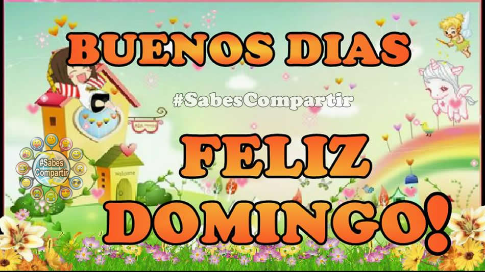 Frases Y Video Mensaje Buenos Días Feliz Domingo Sabes Compartir