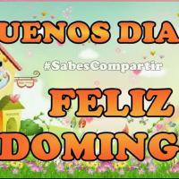 FRASES Y VIDEO MENSAJE buenos días feliz Domingo