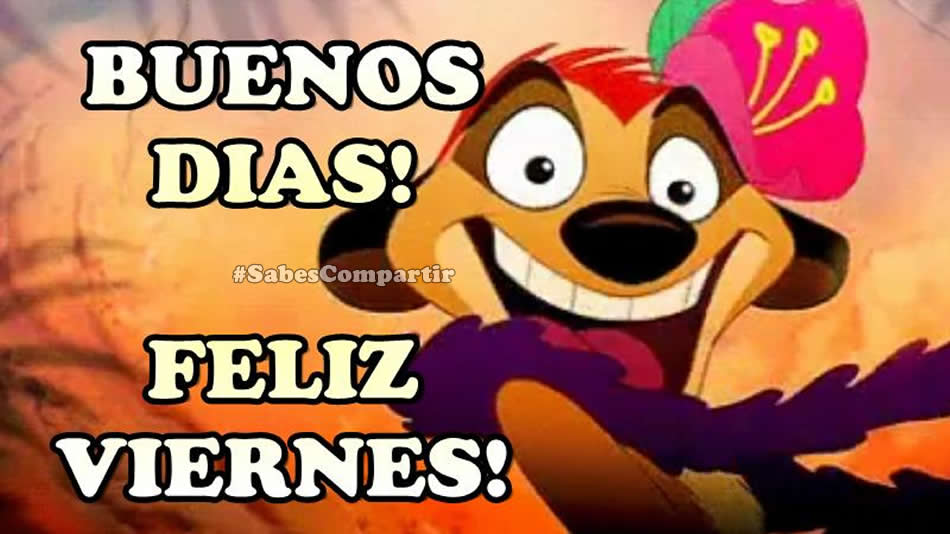 Frases y Video Mensajes Buenos dias Feliz Viernes