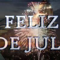 Feliz 4 de Julio día de la Independencia
