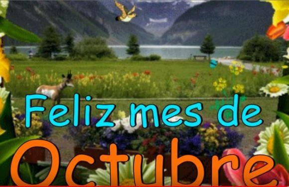 Feliz Octubre para todas!