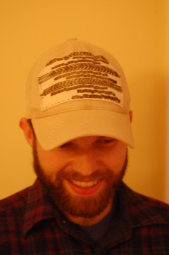 Drew in patched hat 2
