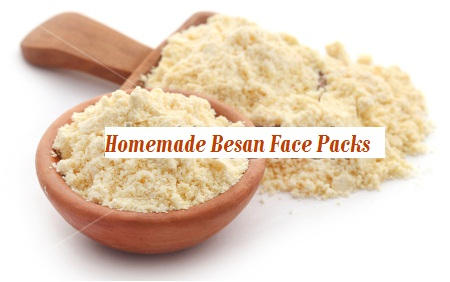Homemade Besan Face Packs