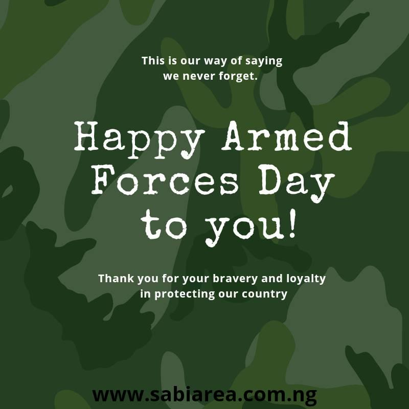 TO ALL OUR SURVIVING  AND FALLEN SOLDIERS: DAALU, NAGODE, OSE.