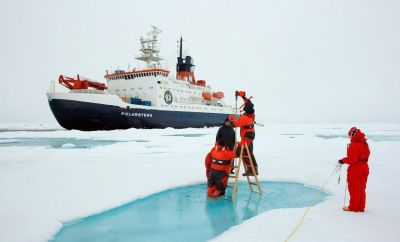 'Polarstern' expedition documents dramatic sea ice decrease