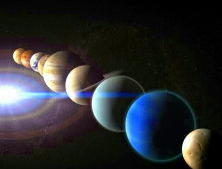 ¿De dónde vienen los nombres de los planetas?