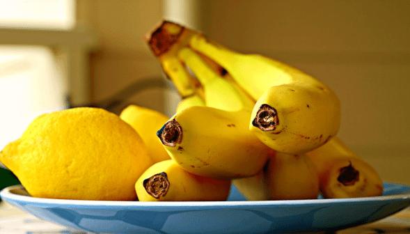 Los alimentos de color amarillo nos hacen más felices