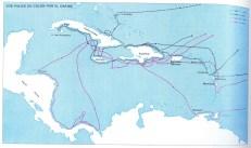 Los viajes de Cristóbal Colón (II/III).