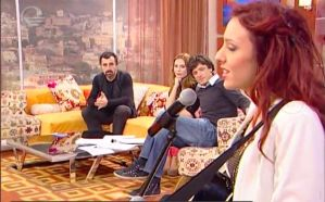 "Guest in TV Imedi´s morning show ""Dila"""