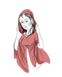 Girl in the Red Hood, 2015 (inspired by Erik Matti's Darna)