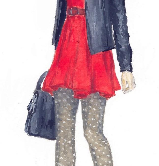 Lady in Red: Evan Rachel Wood