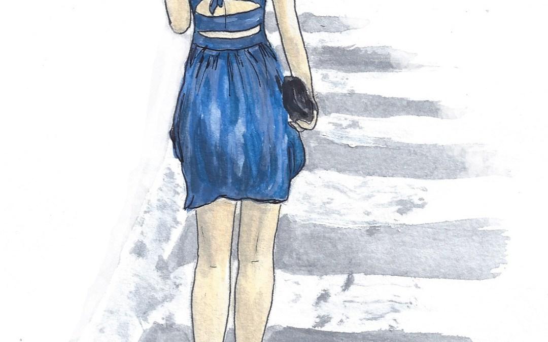 Style stalking: Mini Dress with Back Cutouts