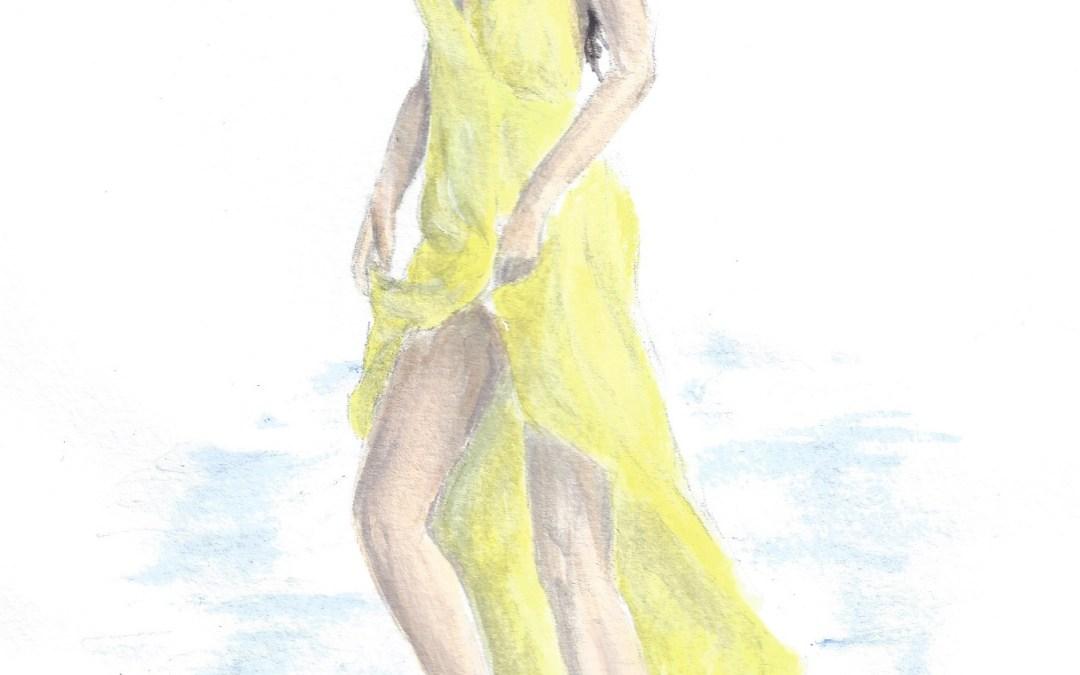 Goddess of the Barbadian Beach: Rihanna